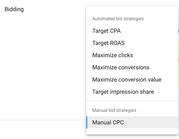 google-ads-bidding-strategies